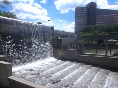 Grand Fountain in Flint, Michigan