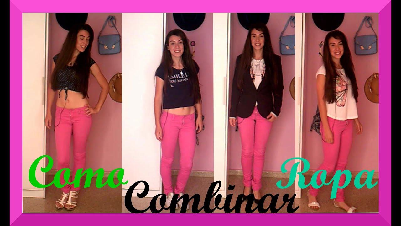 Como combinar un pantalon rosa selene youtube for Colores para combinar con rosa