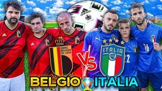 BELGIO ITALIA COME FINIRÀ EURO 2020 FOOTBALL CHALLENGE