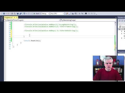 C datetime.parse iformatprovider example