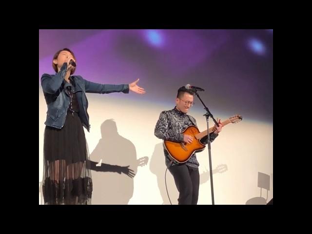 《愛的源頭》陳芷盈 Yanji Chan (原創歌曲) [Guitar:Jasonboy] 三藩市Fox Theatre音樂佈道會Live