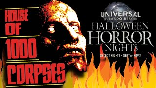 Rob Zombie House of a 1000 Corpses at HHN 29 Universal Orlando