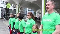 #freiraumfürmacher Flashmob in München