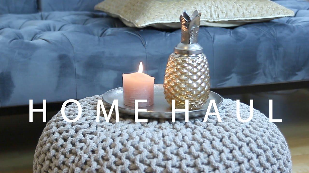 Zara Home And Interio Home Haul Scandinavian Interior Design Sneak Peek At My Living Room Youtube