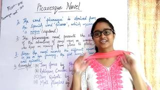 Picaresque novel | explained in hindi with notes in english |