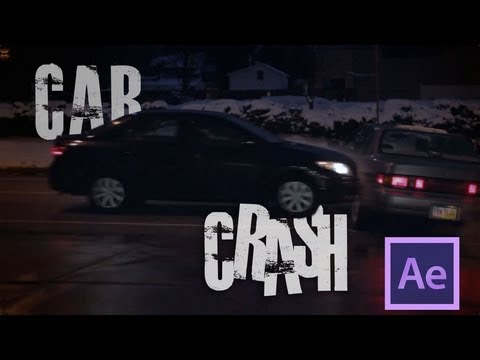 How To Make A Car Crash In After Effects (Tutorial) thumbnail