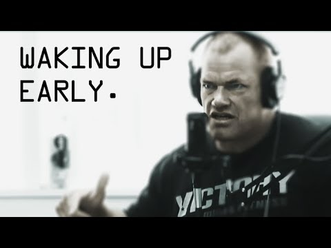 Guide to Waking Up Early - Staying Alert and Keeping the Peace - Jocko Willink