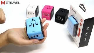 Ổ cắm điện quốc tế đa năng du lịch OTravel Universal Adapter