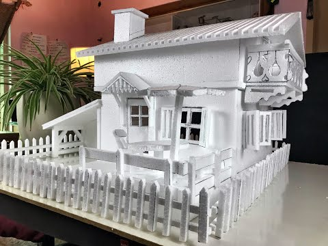 Download HOW TO MAKE A THERMOCOL HOUSE  FOR SCHOOL PROJECT AND EXHIBITIONS