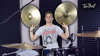 How big are those hi hats? (best cymbal hack)