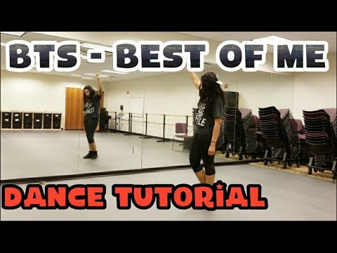 BTS (방탄소년단) - Best Of Me DANCE TUTORIAL PART 1