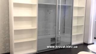 Белая глянцевая ТВ стенка(http://krovat.kiev.ua/ Изготавливаем по фото заказчика мягкую мебель: кровати, диваны. Производим корпусную мебель..., 2015-08-20T11:33:49.000Z)