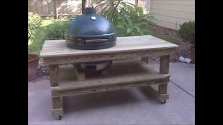 Table For Big Green Egg
