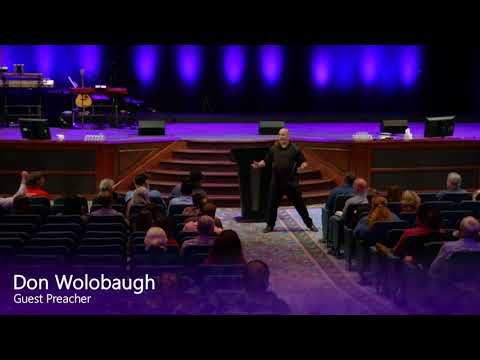 Don Wolabaugh preaching in Lake City - 2018-02-23 Friday Night Service