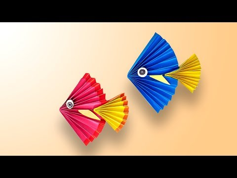 Fish Craft for Kids | Origami Fish Easy | Summer Camp Craft Activities Origami Fish (2019)