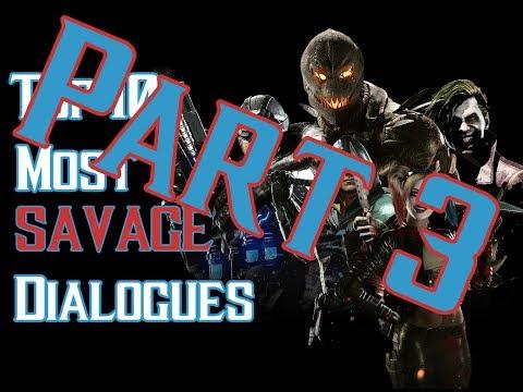[PART 3] Top 10 Most SAVAGE Dialogue Intros - INJUSTICE 2