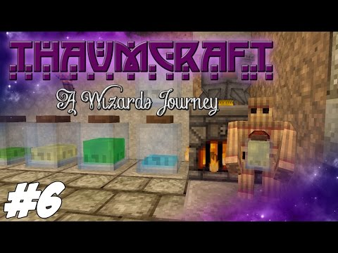 Ep 18 Thaumcraft 4 1 Tutorial Straw Golem Golem Core Gather