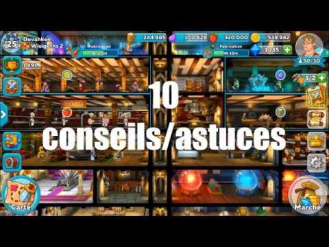 HUSTLE CASTLE - 10 CONSEILS ET ASTUCES (FR)