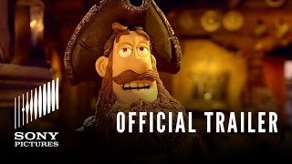 THE PIRATES! BAND OF MISFITS  - Official Trailer - In Theaters 3.30.12