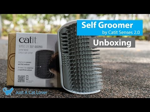 Self Groomer by Catit - Cat Product Unboxing: Cat Toy Review