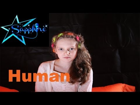 Christina Perri - Human cover by 11-year-old Sapphire