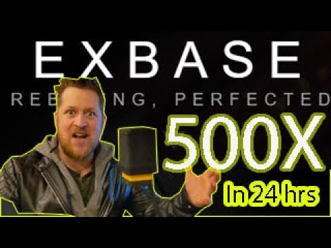 EXBASE - 500X IN UNDER 24 HOURS - WHATS UNDER THE HOOD