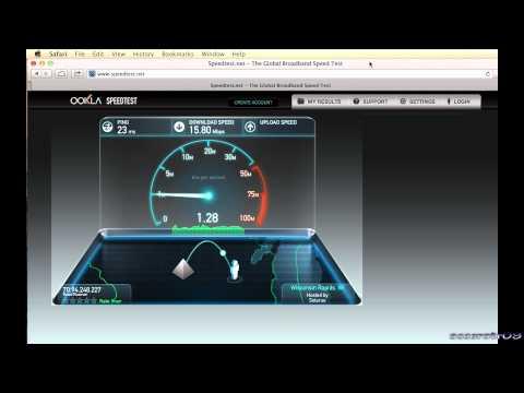Time Warner Cable Standard vs Turbo Internet Speed Test