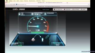 Time Warner Cable Basic vs Turbo Internet Speed Test