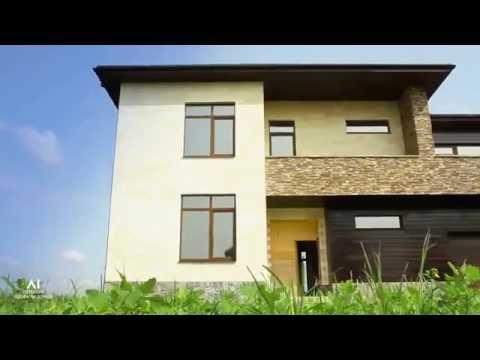 Проект дома из газобетонных блоков «Линкольн»