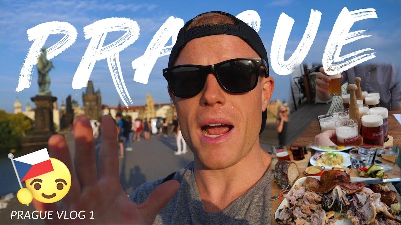 FIRST TIME IN PRAGUE! ???Must Try Food + History of Charles Bridge (Czech Republic) (Ep.1)