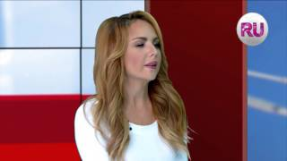 """Певица МакSим с презентацией клипа """"Золотыми рыбками"""" Эфир RuTV от 14 09 15"""