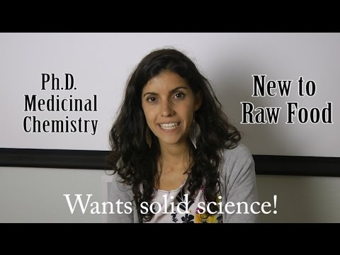 Annabel Molero, Ph.D. Science of Raw Food Nutrition Testimonial