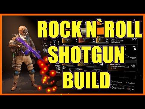 The Division 2   Rock n` Roll Shotgun Build   Boom Boom Boom     Boom  