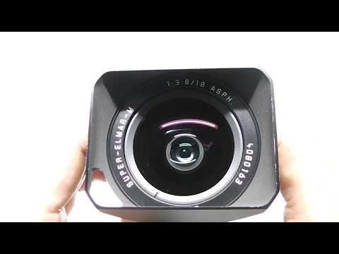 LEICA ライカ Super-Elmar-M スーパーエルマー 18mm F3.8 ASPH + 純正フード + 元箱一式