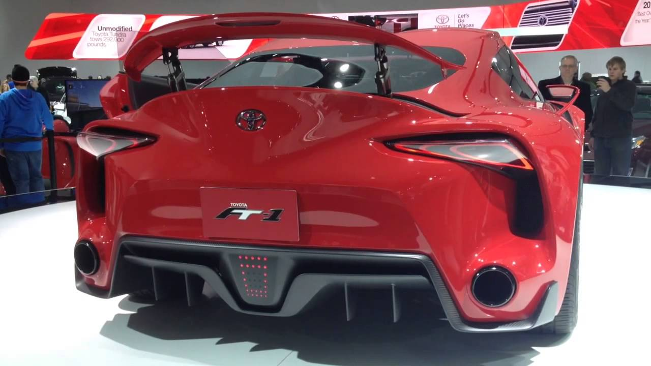 Toyota ft1 concept rear bumper and exhaust  YouTube