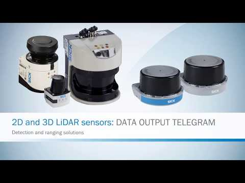 2D and 3D LiDAR Sensors Data Output Telegram Tutorial