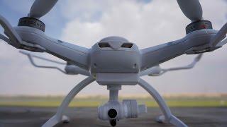 AOSENMA CG035 GPS Camera Quadcopter Flight Testing
