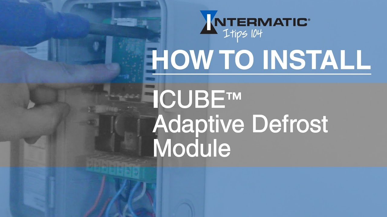 How to Install: ICUBE™ Adaptive Defrost Module - YouTube