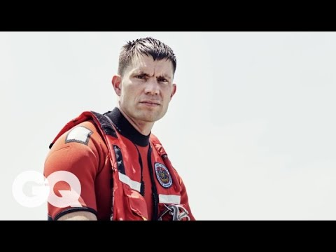 Amazing Footage of the Rescue Swimmer Who Jumped Into a Superstorm | GQ