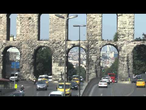 Стамбул Беязит - Акведук Валента - Золотой Рог Istanbul Beyazit - Valens Aqueduct - Golden Horn
