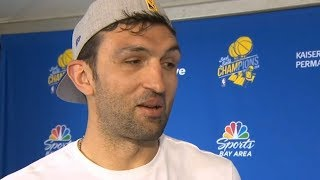 Zaza Pachulia - Interview / Warriors Championship Parade / June 12, 2018