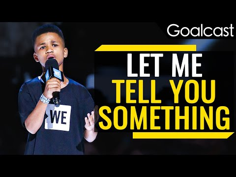 A 12-Year-Old's Inspiring Message to the World | Demarjay Smith | Goalcast