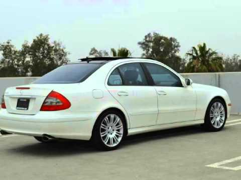 2007 Mercedes Benz E350 Navigation PANORAMIC ROOF, Sport Package, WOOD TRIM  WHEEL, XENON...   YouTube