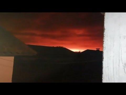 Взрывы на складе боеприпасов ВСУ под Черниговом