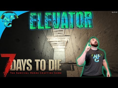7DTD Modern Marvels of Technology We Finally Build the ELEVATOR from Bedrock to the TOP! E74