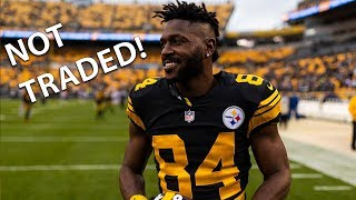 Why Did the Antonio Brown Trade to the Bills Fall Through?