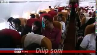 BBC went right on ground with an Air India plane to cover India