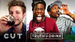 Rappers Play Truth or Drink (Buddy & Kent Jamz) | Truth or Drink | Cut