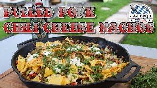Pulled Pork Chili Cheese Nachos - Der Partysnack vom Grill #108