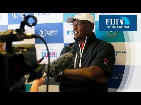 Vijay Singh Press Conference - 2017 Fiji International